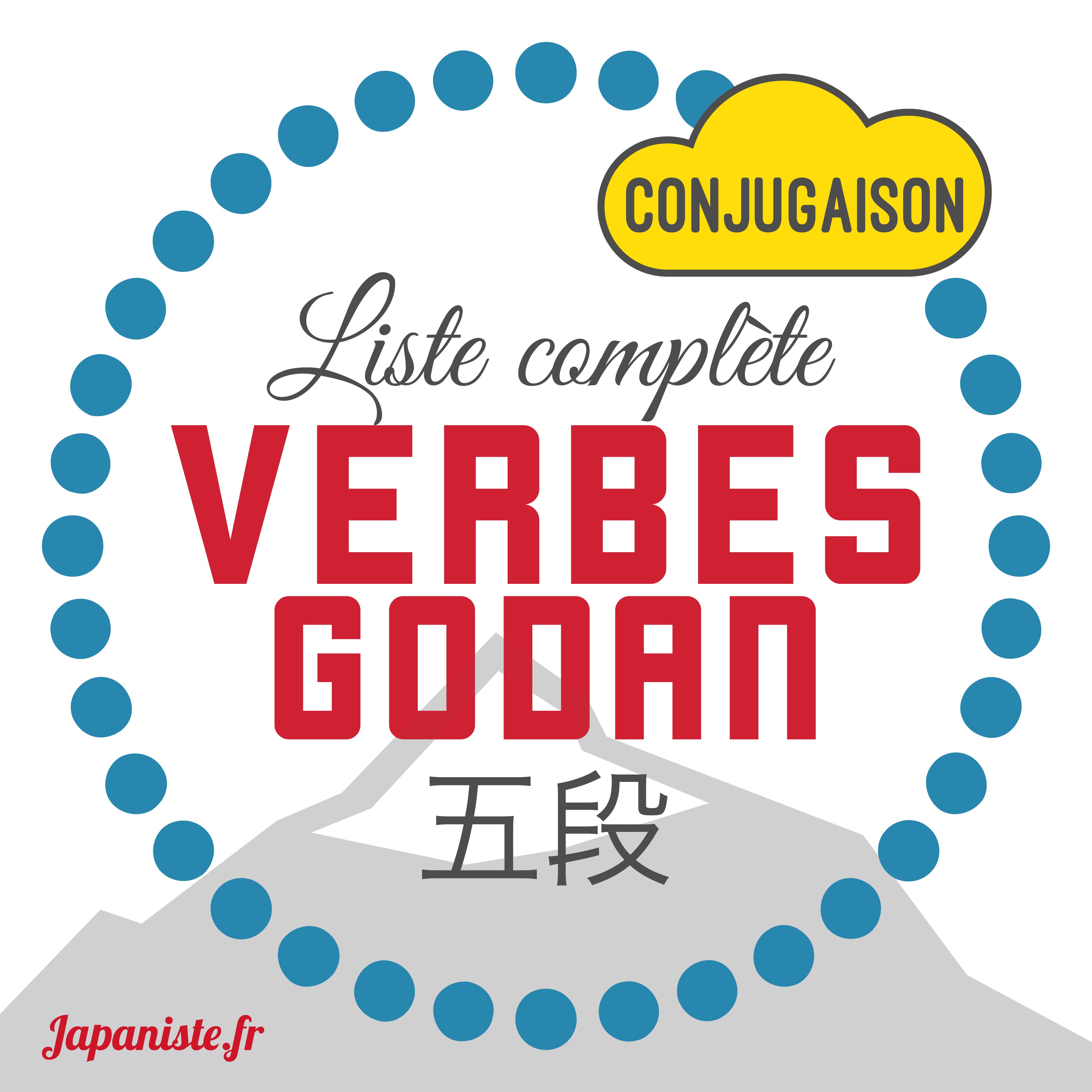 Liste Complete Verbes Godan Apprendre Le Japonais Avec Le Japaniste